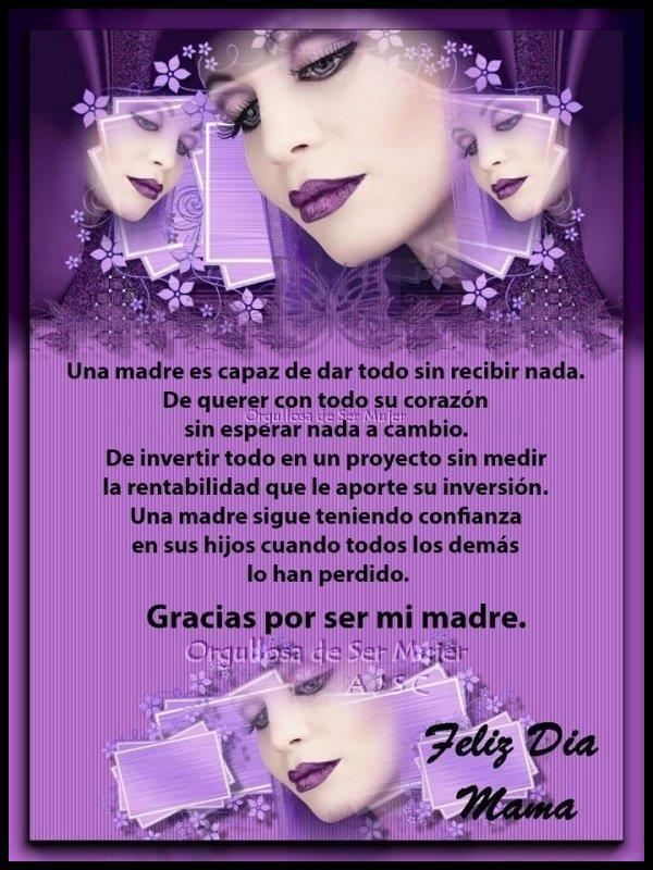 Felíz día de la Madre tarjetas frases (18)