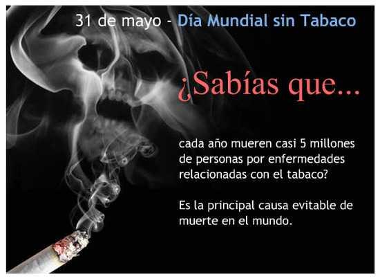 Día sin Tabaco - 31 de mayo (2)