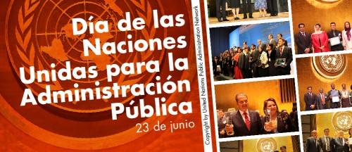 El martes 23 de junio se celebrará el Día de las Naciones Unidas para la Administración Pública