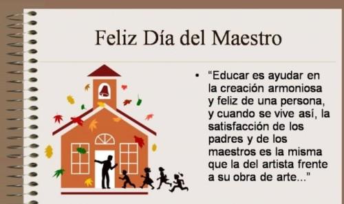 Feliz dia del Maestro frases  (5)