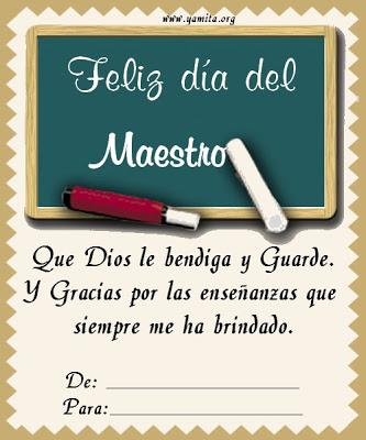 Feliz dia del Maestro frases  (6)