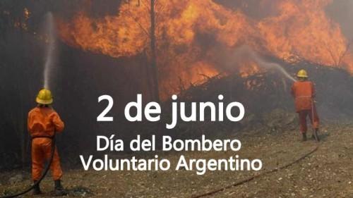 Imágenes y frases por el Día del Bombero Voluntario en Argentina