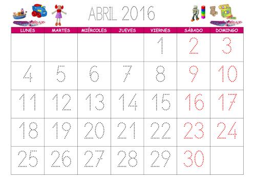 Que dias se celebran el mes de Abril 2016, imágenes y frases