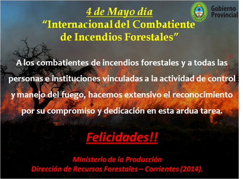 4 de Mayo - dia del bombero forestal  (1)