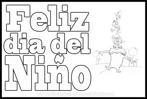 Dibujos infantiles para el Día del Niño (2)