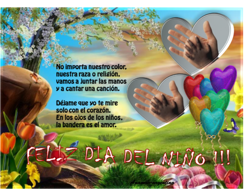 Día del Niño mensajes tarjetas (1)