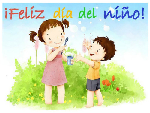 Felíz Día del Niño frase (10)