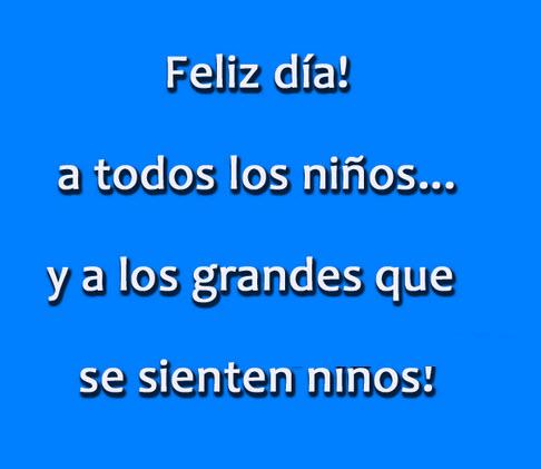Felíz Día del Niño frase (4)