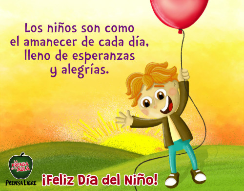 Felíz Día del Niño frase (8)