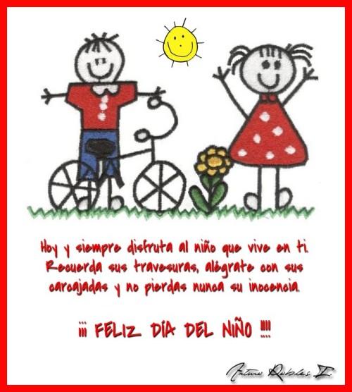 Mensajes Felíz Día del Niño (3)