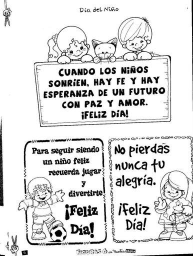 Mensajes Felíz Día del Niño (9)