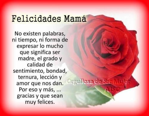 Felíz día de la Madre tarjetas frases (25)