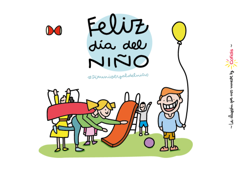 Descargar Lindas Tarjetas Para El Día Del Niño Con Frases: Que Día Es El Día Del Niño En Bolivia