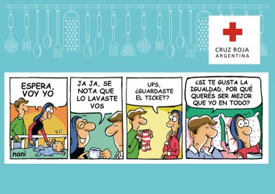 Cruz Roja humor