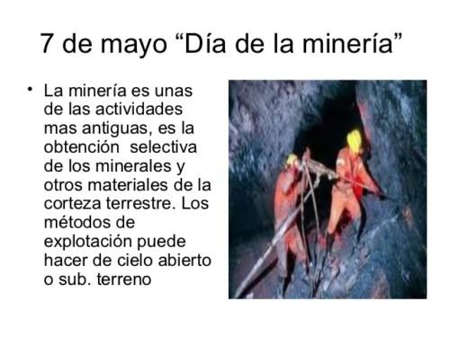 Día de la Mineria -  7 de mayo (5)