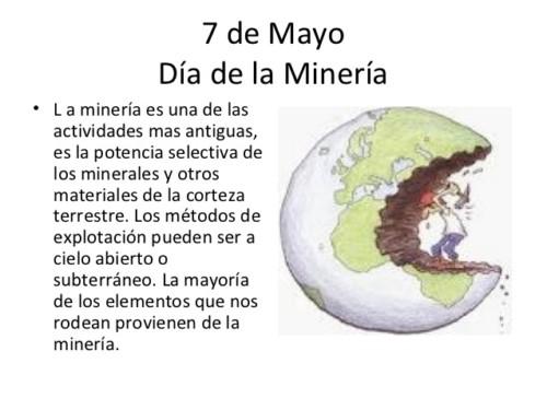 Día de la Mineria -  7 de mayo (7)