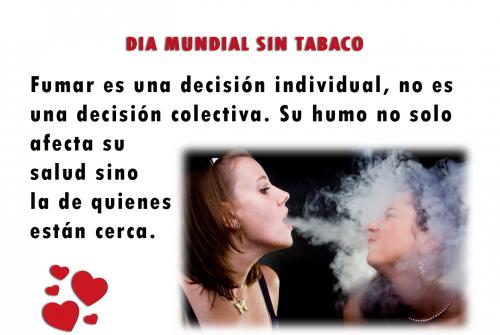 Día sin Tabaco - 31 de mayo (1)