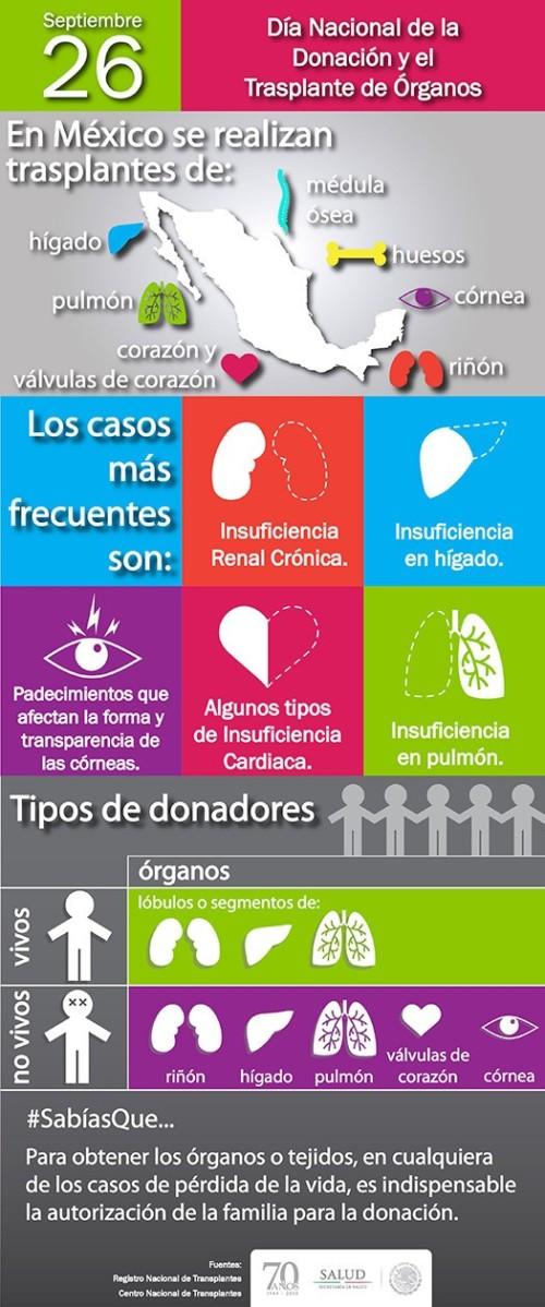 Información sobre  Donación de Organos y transplantes  (5)