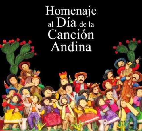 Imágenes con frases e información del Día de la Canción Andina en Perú