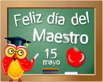 Día del Maestro  tarjetas  (4)