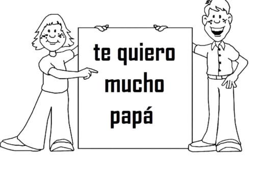 Dibujos dia del Padre para Colorear (8)