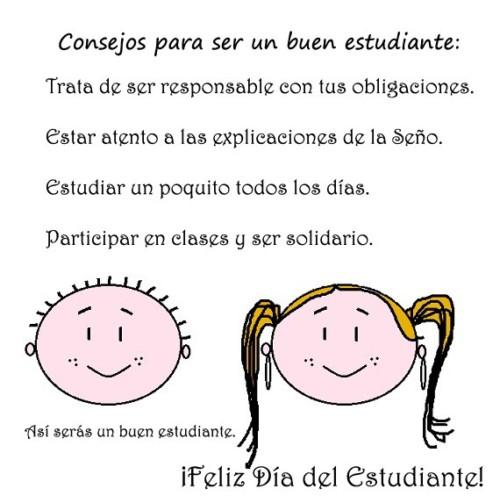 Felíz día del Estudiante carteles  (10)