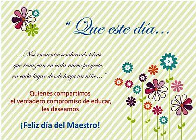Feliz dia del Maestro frases  (12)