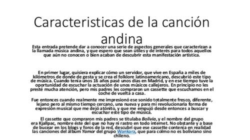 día de la Canción andina (1)