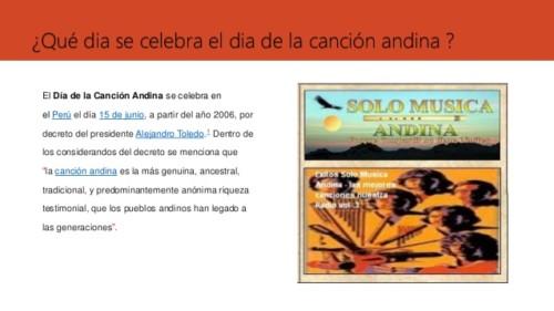 día de la Canción andina (2)