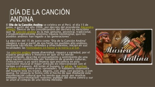día de la Canción andina (4)