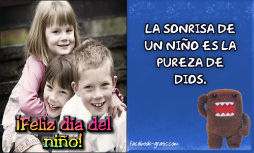 Mensajes Felíz Día del Niño  (6)