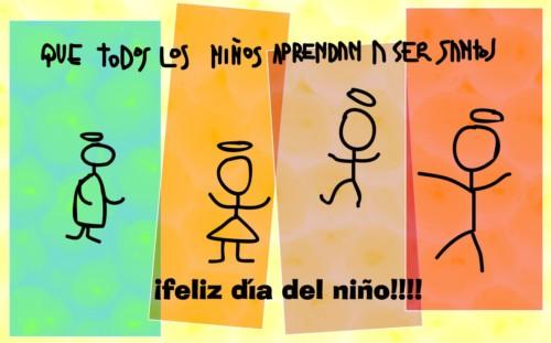 Mensajes Felíz Día del Niño  (2)