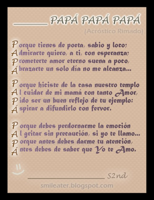 Poesia para el dia del Padre  (3)