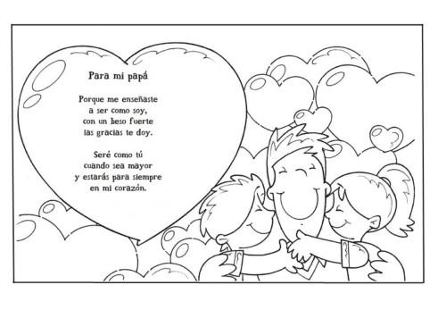 carteles y diplomas Dia del Padre para Colorear (1)