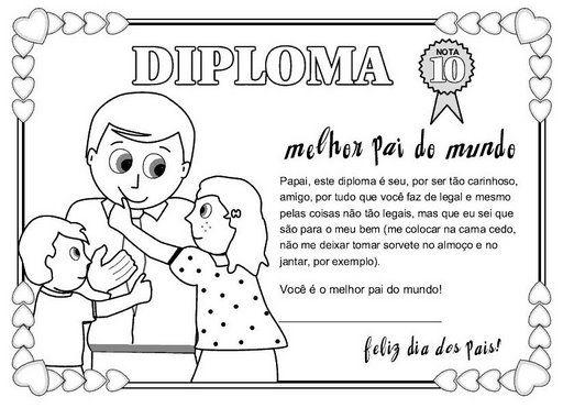 carteles y diplomas Dia del Padre para Colorear  (11)