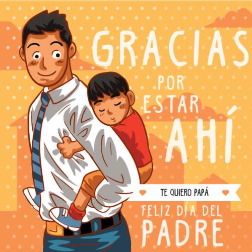 mensajes y  felicitaciones del Día del Padre  (4)