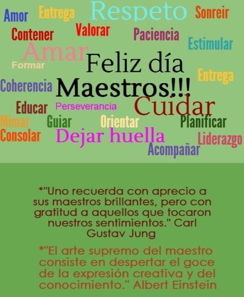 Día del Maestro  tarjetas  (14)