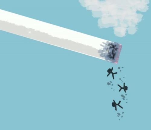 día sin Tabaco carteles (2)