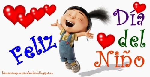 Feliz dia del Niño imágenes con frases lindas (2)