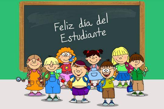 Felíz día del Estudiante carteles  (4)