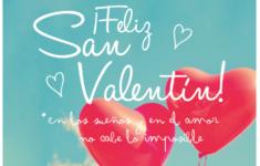Feliz dia de San Valentín 2018: Imágenes y Frases
