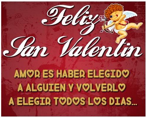 Frases De Amor Para San Valentin Con Imagenes Bonitas De: Feliz Dia De San Valentín 2019: Imágenes Y Frases