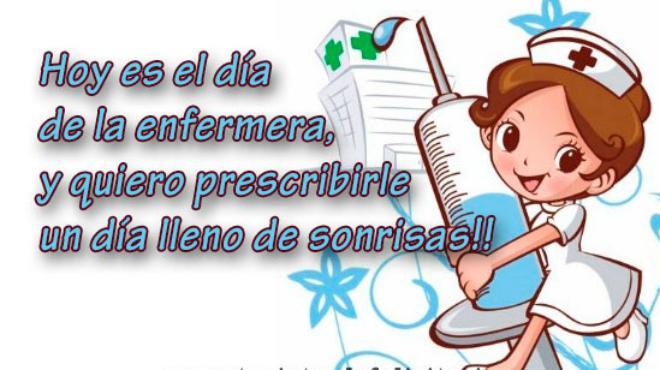 Feliz Día De La Enfermera Imágenes Frases Para Felicitar